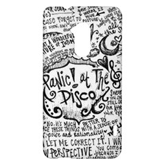Panic! At The Disco Lyric Quotes HTC One Max (T6) Hardshell Case