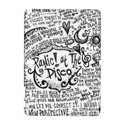 Panic! At The Disco Lyric Quotes Samsung Galaxy Note 10.1 (P600) Hardshell Case