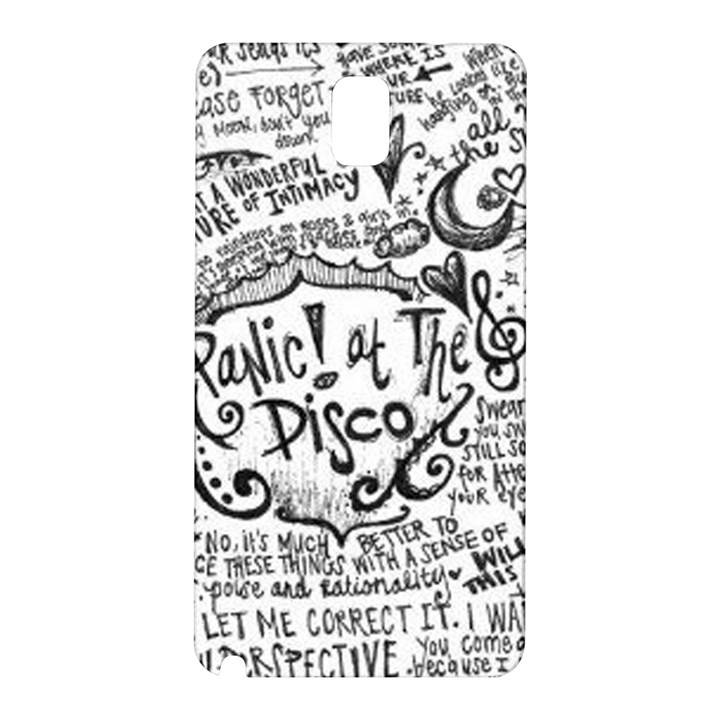 Panic! At The Disco Lyric Quotes Samsung Galaxy Note 3 N9005 Hardshell Back Case