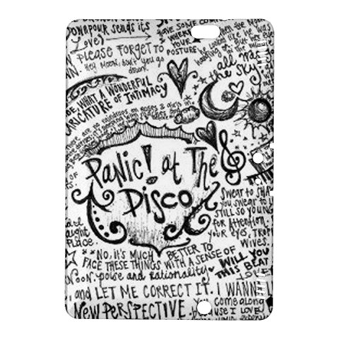 Panic! At The Disco Lyric Quotes Kindle Fire HDX 8.9  Hardshell Case