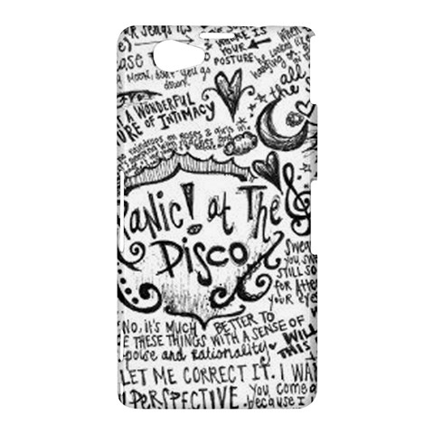 Panic! At The Disco Lyric Quotes Sony Xperia Z1 Compact