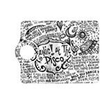 Panic! At The Disco Lyric Quotes Kindle Fire HD (2013) Flip 360 Case Front