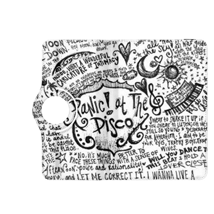 Panic! At The Disco Lyric Quotes Kindle Fire HDX 8.9  Flip 360 Case