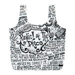 Panic! At The Disco Lyric Quotes Full Print Recycle Bags (L)  Front