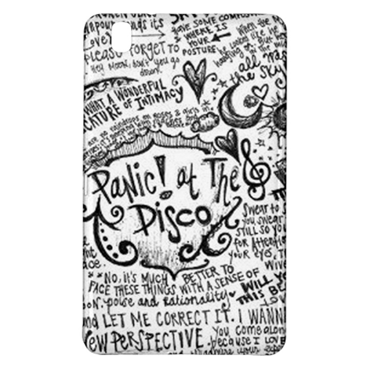 Panic! At The Disco Lyric Quotes Samsung Galaxy Tab Pro 8.4 Hardshell Case