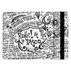 Panic! At The Disco Lyric Quotes Samsung Galaxy Tab Pro 12 2  Flip Case