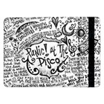 Panic! At The Disco Lyric Quotes Samsung Galaxy Tab Pro 12.2  Flip Case Front