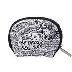 Panic! At The Disco Lyric Quotes Accessory Pouches (Small)  Back