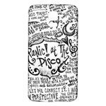 Panic! At The Disco Lyric Quotes Samsung Galaxy S5 Back Case (White) Front
