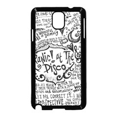 Panic! At The Disco Lyric Quotes Samsung Galaxy Note 3 Neo Hardshell Case (Black)