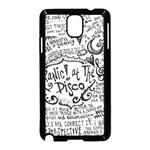Panic! At The Disco Lyric Quotes Samsung Galaxy Note 3 Neo Hardshell Case (Black) Front
