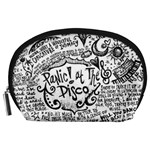 Panic! At The Disco Lyric Quotes Accessory Pouches (Large)  Front