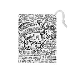 Panic! At The Disco Lyric Quotes Drawstring Pouches (Medium)