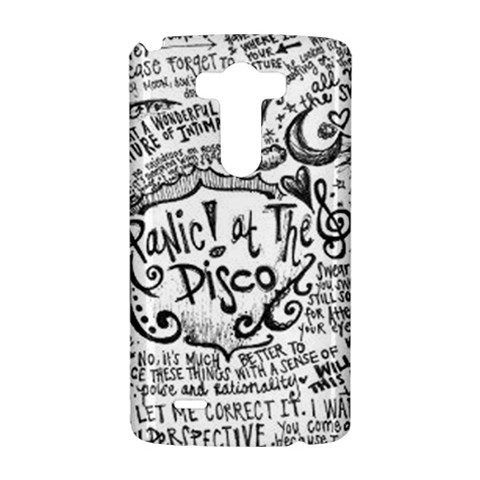 Panic! At The Disco Lyric Quotes LG G3 Hardshell Case