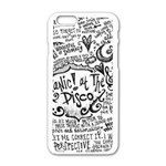 Panic! At The Disco Lyric Quotes Apple iPhone 6/6S White Enamel Case Front