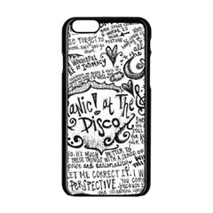 Panic! At The Disco Lyric Quotes Apple Iphone 6/6s Black Enamel Case