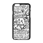 Panic! At The Disco Lyric Quotes Apple iPhone 6/6S Black Enamel Case Front