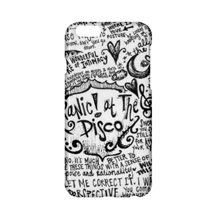 Panic! At The Disco Lyric Quotes Apple iPhone 6/6S Hardshell Case