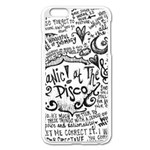 Panic! At The Disco Lyric Quotes Apple iPhone 6 Plus/6S Plus Enamel White Case Front