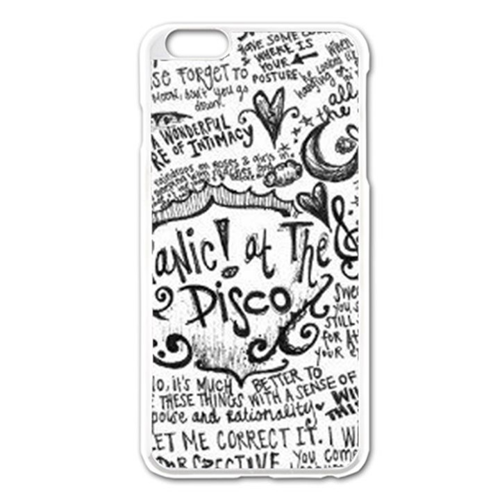 Panic! At The Disco Lyric Quotes Apple iPhone 6 Plus/6S Plus Enamel White Case