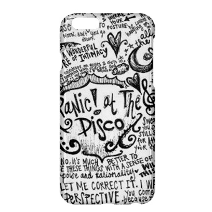 Panic! At The Disco Lyric Quotes Apple iPhone 6 Plus/6S Plus Hardshell Case