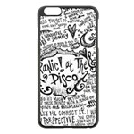 Panic! At The Disco Lyric Quotes Apple iPhone 6 Plus/6S Plus Black Enamel Case Front