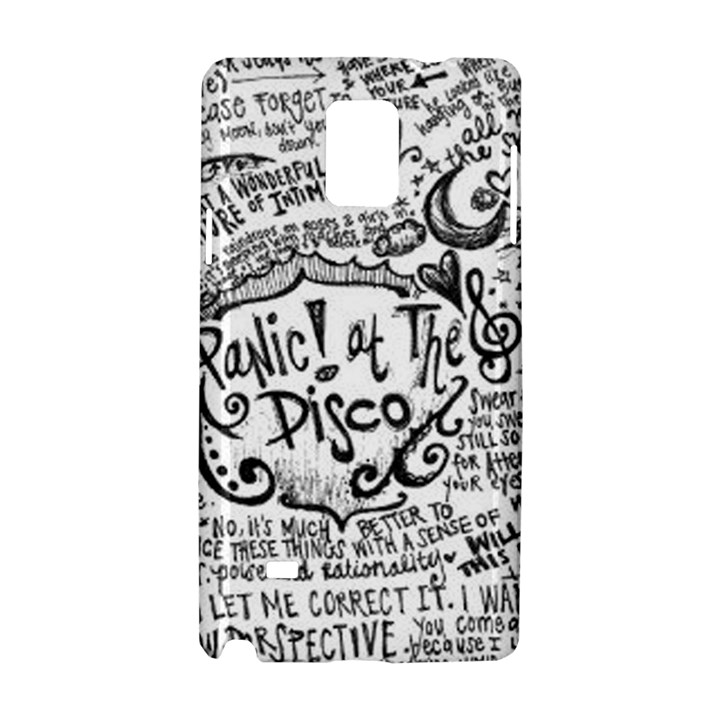 Panic! At The Disco Lyric Quotes Samsung Galaxy Note 4 Hardshell Case