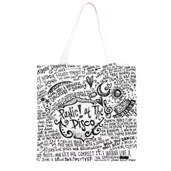 Panic! At The Disco Lyric Quotes Grocery Light Tote Bag