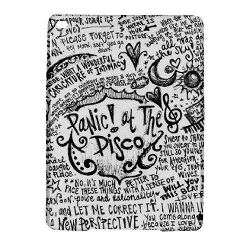 Panic! At The Disco Lyric Quotes iPad Air 2 Hardshell Cases