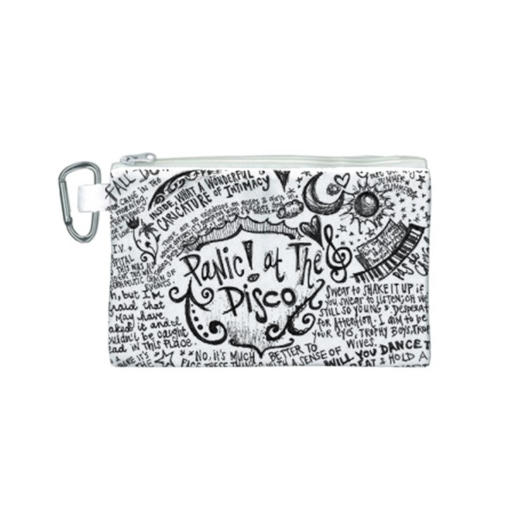 Panic! At The Disco Lyric Quotes Canvas Cosmetic Bag (S)