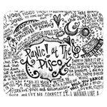 Panic! At The Disco Lyric Quotes Double Sided Flano Blanket (Small)  50 x40 Blanket Front