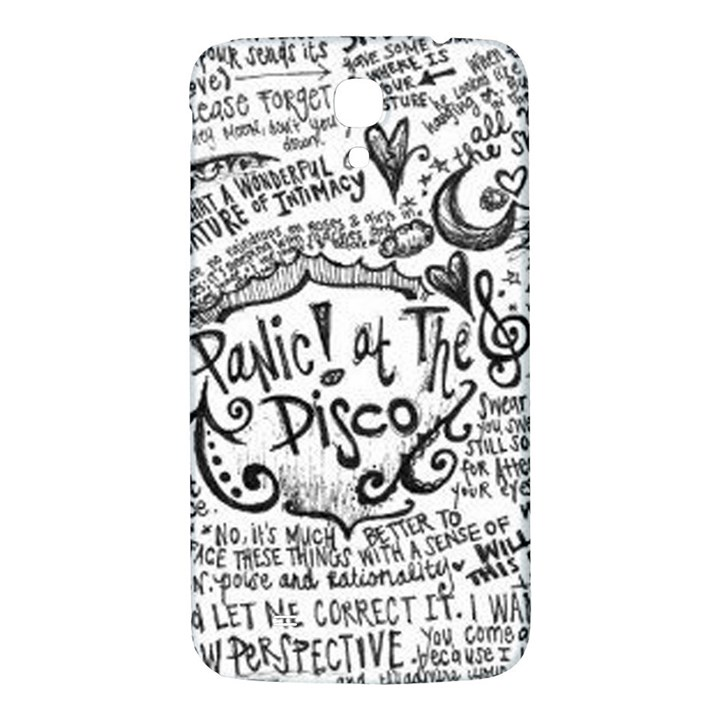 Panic! At The Disco Lyric Quotes Samsung Galaxy Mega I9200 Hardshell Back Case