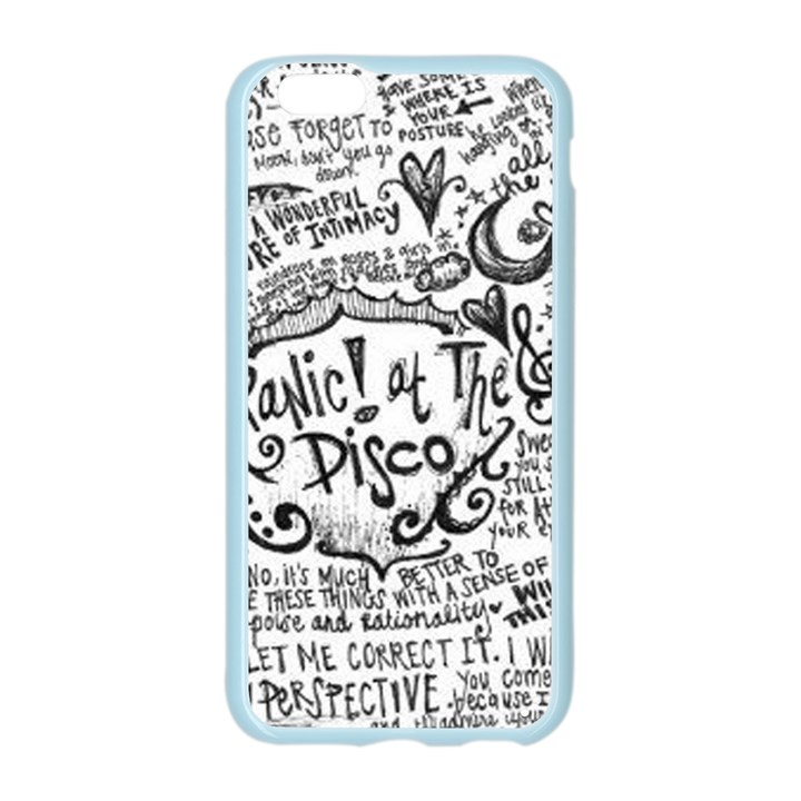 Panic! At The Disco Lyric Quotes Apple Seamless iPhone 6/6S Case (Color)