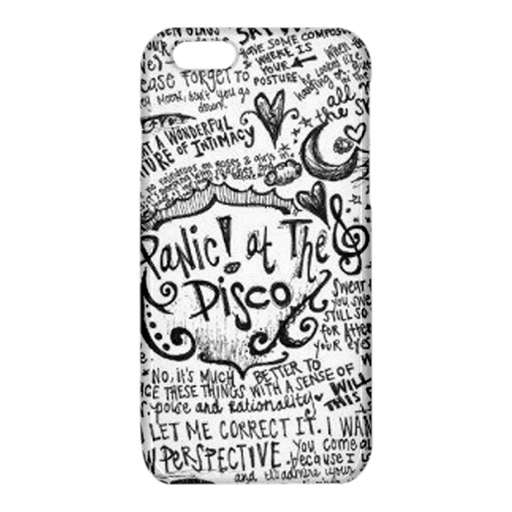 Panic! At The Disco Lyric Quotes iPhone 6/6S TPU Case