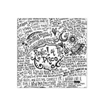 Panic! At The Disco Lyric Quotes Satin Bandana Scarf Front