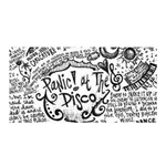 Panic! At The Disco Lyric Quotes Satin Wrap Front