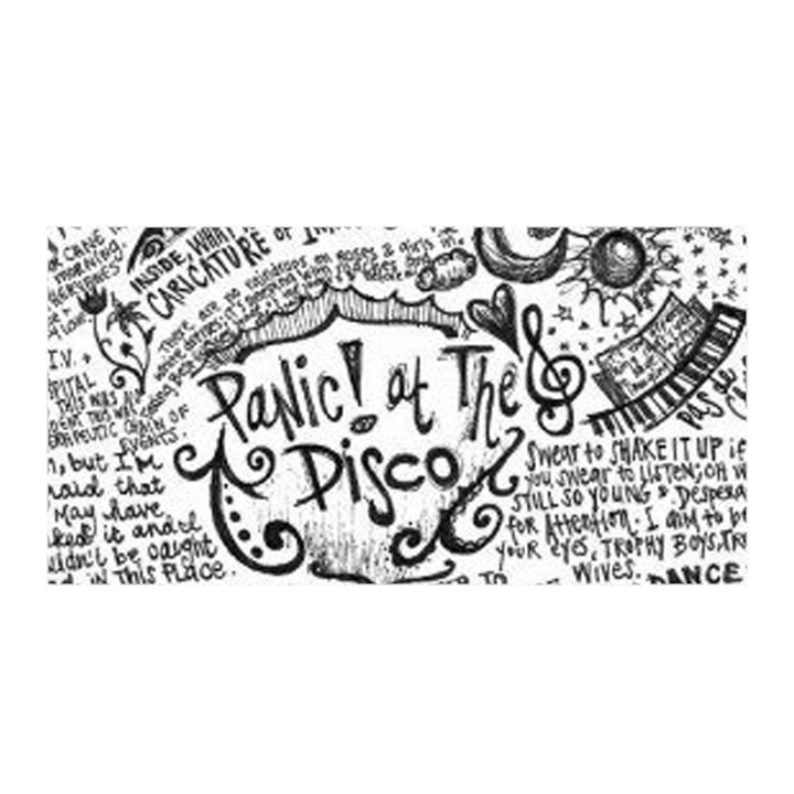 Panic! At The Disco Lyric Quotes Satin Wrap