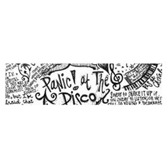 Panic! At The Disco Lyric Quotes Satin Scarf (oblong)