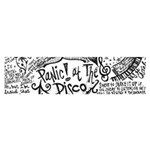 Panic! At The Disco Lyric Quotes Satin Scarf (Oblong) Front
