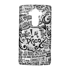 Panic! At The Disco Lyric Quotes LG G4 Hardshell Case