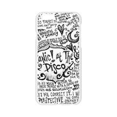 Panic! At The Disco Lyric Quotes Apple Seamless iPhone 6/6S Case (Transparent)