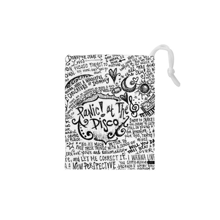Panic! At The Disco Lyric Quotes Drawstring Pouches (XS)