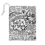 Panic! At The Disco Lyric Quotes Drawstring Pouches (Extra Large) Back