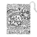Panic! At The Disco Lyric Quotes Drawstring Pouches (XXL) Front