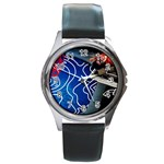 Panic! At The Disco Released Death Of A Bachelor Round Metal Watch Front