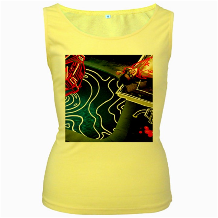 Panic! At The Disco Released Death Of A Bachelor Women s Yellow Tank Top
