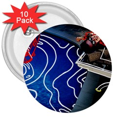 Panic! At The Disco Released Death Of A Bachelor 3  Buttons (10 pack)