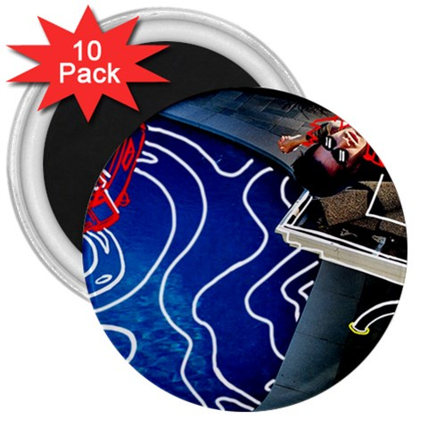 Panic! At The Disco Released Death Of A Bachelor 3  Magnets (10 pack)