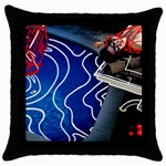 Panic! At The Disco Released Death Of A Bachelor Throw Pillow Case (Black) Front