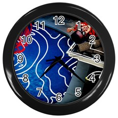Panic! At The Disco Released Death Of A Bachelor Wall Clocks (Black)